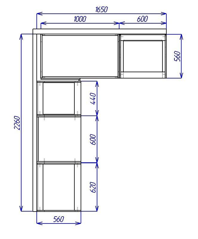 Схема сборки кухонных шкафов фото 850