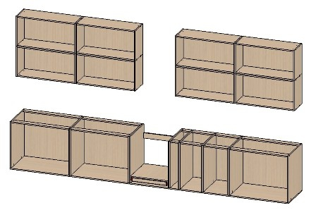 Линейная форма (кухонный шкаф своими руками)