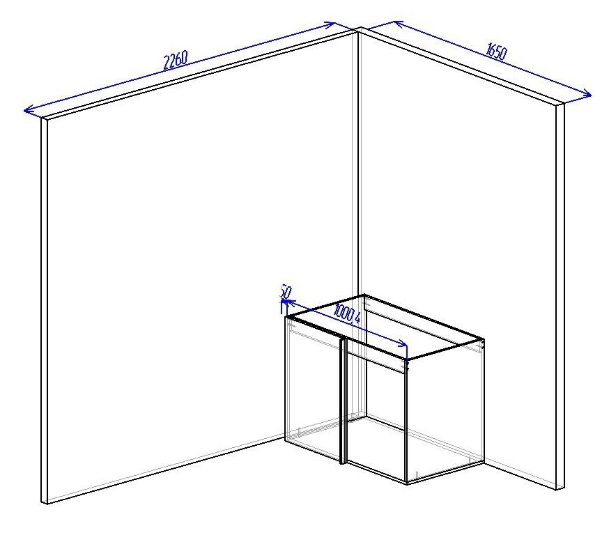 Как сделать угловой шкаф для кухни 582