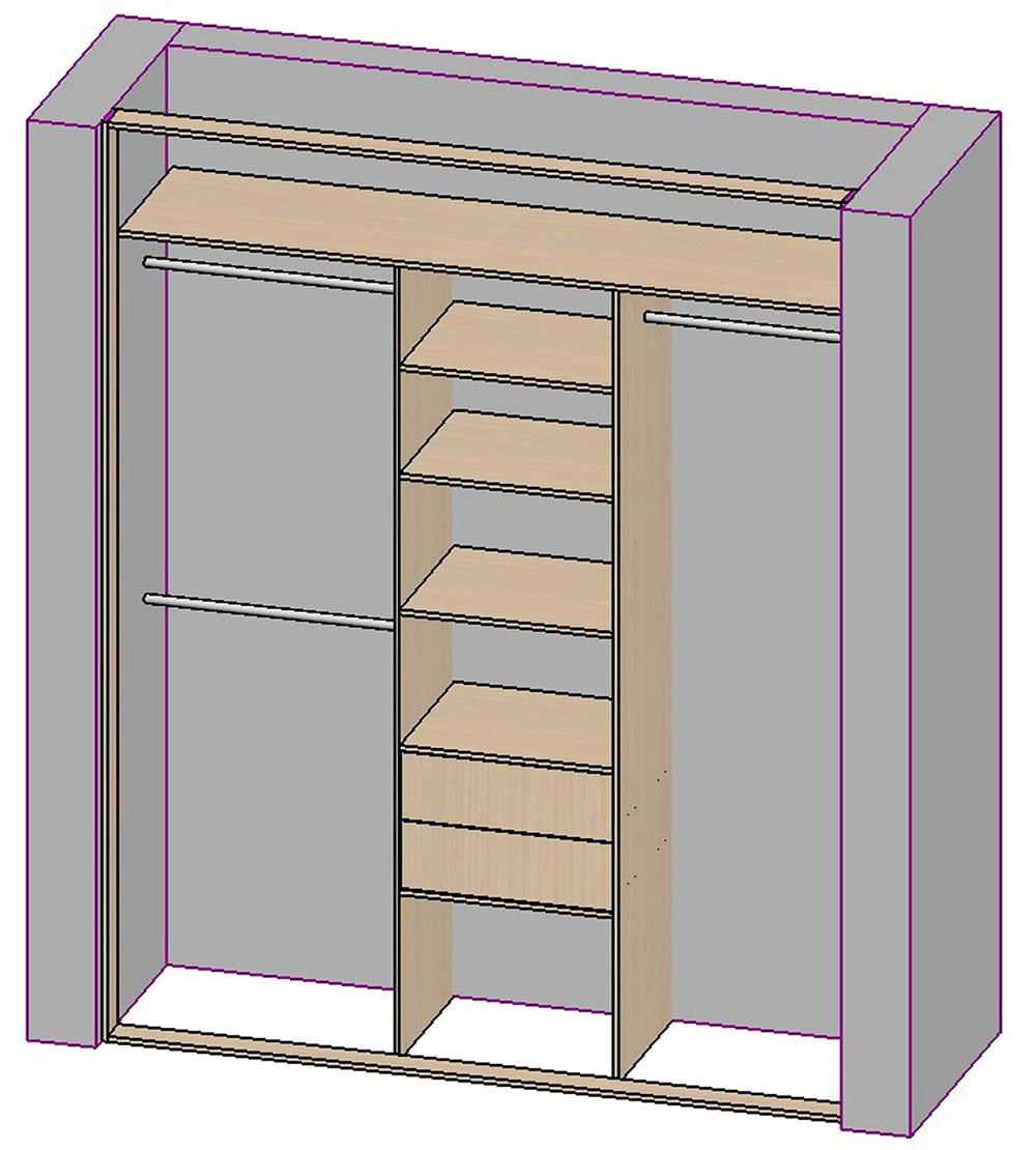 Пошаговая инструкция как сделать встроенный шкаф 997