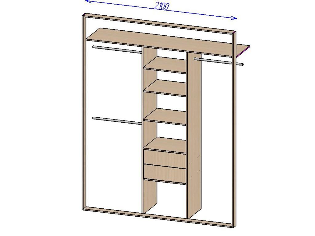 Пошаговая инструкция как сделать встроенный шкаф 149